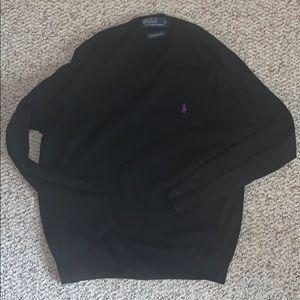 Polo Ralph Lauren size medium black sweater